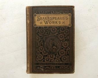Vintage Shakespeare Book - 1890