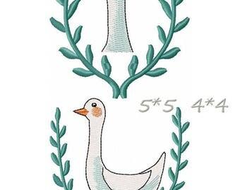 Bunny - Machine Embroidery Design 3*3, 4*4, 5*5