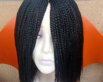 Box braided wig