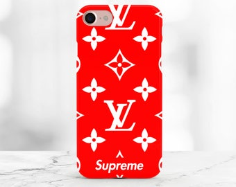 Supreme iPhone 8 case Louis Vuitton iPhone X Supreme Samsung S8 case Red Supreme iPhone 8 Plus Supreme Galaxy S8 case iPhone 7 Case Supreme