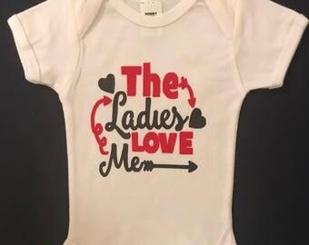 The Ladies Love Me Tshirt