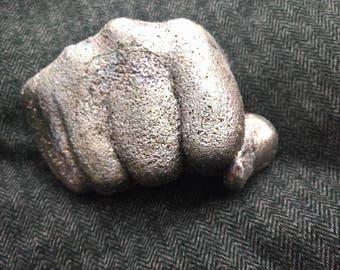 Cast Aluminum Fist Paperweight