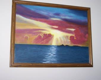 oceanscape sunset