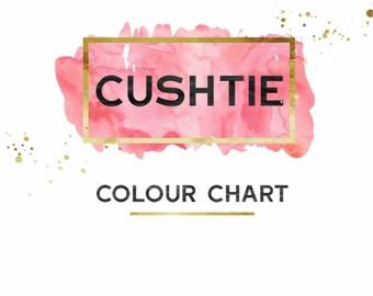 Cushtie Colour Chart
