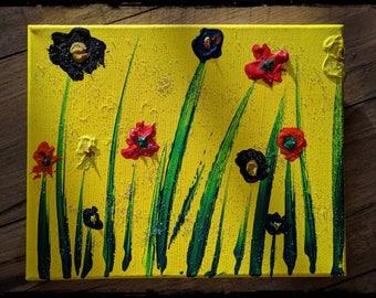 "Original ""Fairy Garden"" Painting"