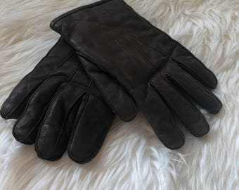 Vintage LL Bean Deerskin gloves size Small Made in USA