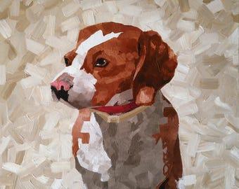 Custom Acrylic Pet Portraits on Canvas [Example]