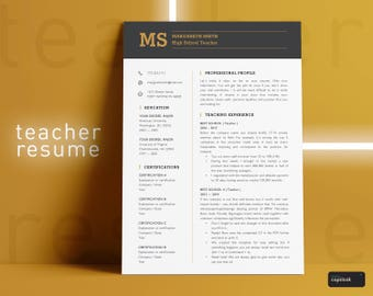 Principal Resume Template for Word Principal CV Teacher Resume Teacher CV Educator Resume for Teacher Assistant Principal Resume High School