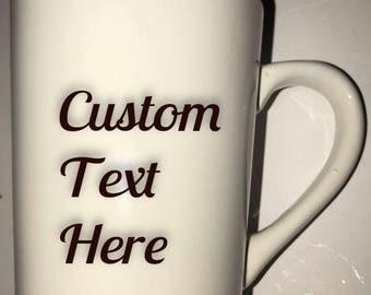 Custom Coffee Mug, Personalized Coffee Mug, Personalized Gift