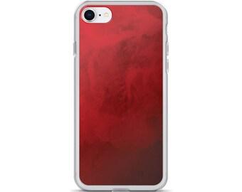 Red iPhone Case - iPhone 7 Case iPhone 6 Case, iPhone 6s Case, iPhone 8 Case, iPhone X Case