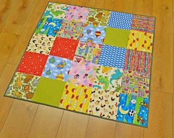 Quilted cotton playmat