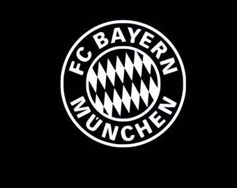 Bayern Munich Vinyl Decal - Multiple Colors and Sizes Available