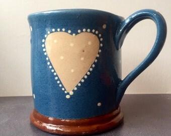 Ceramic Heart Mug
