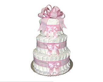 It's a Girl Diaper Cake