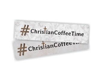 Official #ChristianCoffeeTime Bookmark (2 styles)