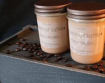 Hazelnut Latte Soy Candle