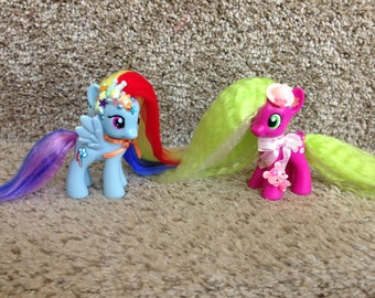 My little pony cherrilee and rainbow dash