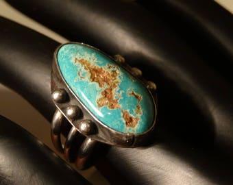 Vintage Native American Turqouise RIng