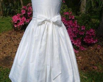 White communion dress