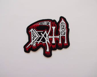 Death logo patches