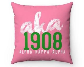 Aka 1908  Alpha Kappa Alpha Decorative Pillow