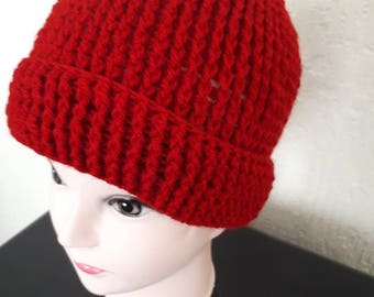 Classy Crochet Red Wine Hat. Fun yarns for fun times. These amazing crochet hat made to order, please do order before  Valentine's day ended