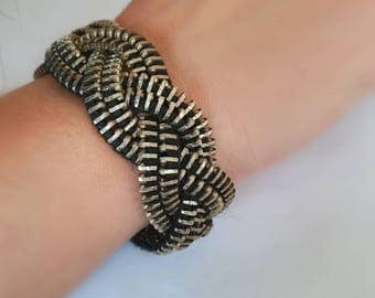 Zipper Bracelet - Unique Jewelry -
