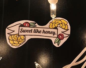 sweet like honey sticker