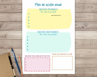 Annual Printable Planner Schedule