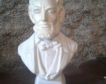 Abraham Lincoln Bust - Avon Cologne Decanter Collectible