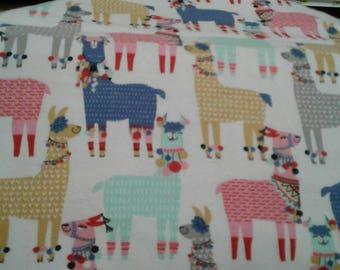 New fabric print lovely llamas