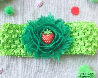 Baby Flower Strawberry Headband