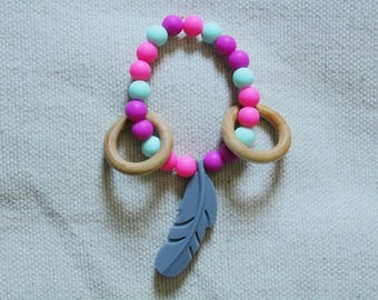 Feather Teething Toy