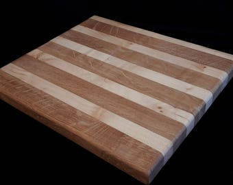 Oak and Sycamore chopping or serving board