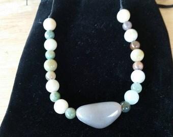 Colored ceramic bead bracelets