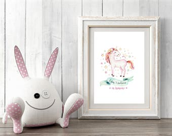 A4 or A3  Print, 'I don't believe in humans' - FREE POSTAGE