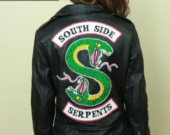 Southside Serpents Leather Jacket Riverdale