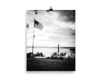 Lake Front Print