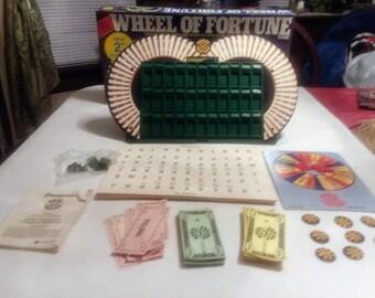 Wheel of Fortune Board Game 2nd Edition Pressman 1985 Vintage