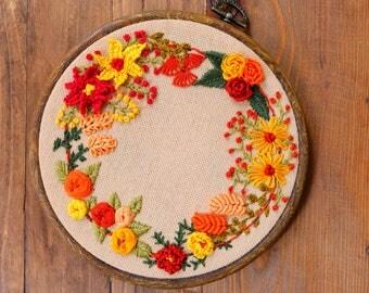embroidery, handmade, hoop