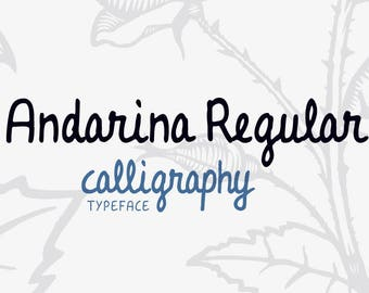 Andarina Regular Font