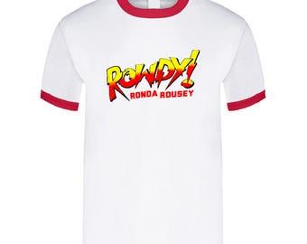Rowdy Ronda Rousey Wwe Royal Rumble Fight T Shirt