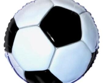 "18"" Foil Balloon - 3D Soccer"