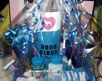 New Victorias secret rush & Bathandbodyworks gift basket!!