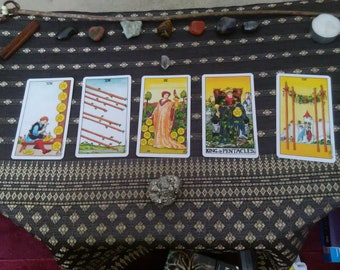 Tarot Card Reading: Past, Present, Future Extended