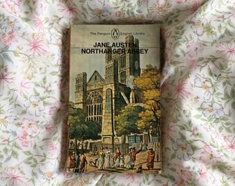 Jane Austen Northanger Abbey 1972 Penguin Paperback Book Novel