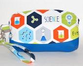 Science! Wristlet Purse