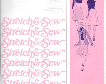 Stretch & Sew Gored Skirts Pattern 425