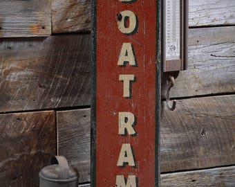 Boat Ramp Sign, Rustic Boat Sign, Custom Boating Decor, Boat Owner Gift, Boat Ramp Wood Sign, HandMade Vintage Wooden Sign ENS1001861