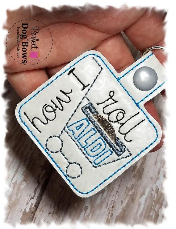 Aldi Coin Holder//Quarter Keeper//Coin Keeper//Quarter Pouch//Aldi keychain